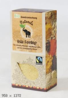 Asia Feeling Bio-Gewürzmischung 35gr