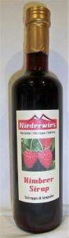 Niederwieshof Sirup Himbeer 500ml