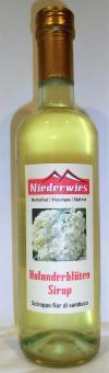 Niederwieshof Sirup Holunderblüte 500ml