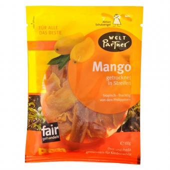 Mangos getrocknet ungeschwefelt in Steifen 100gr