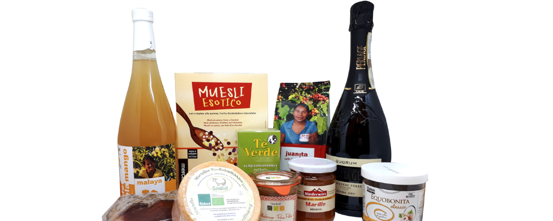 Frühstücks-, Brunch- und Marendpakete mit fairen Lebensmitteln aus aller Welt.